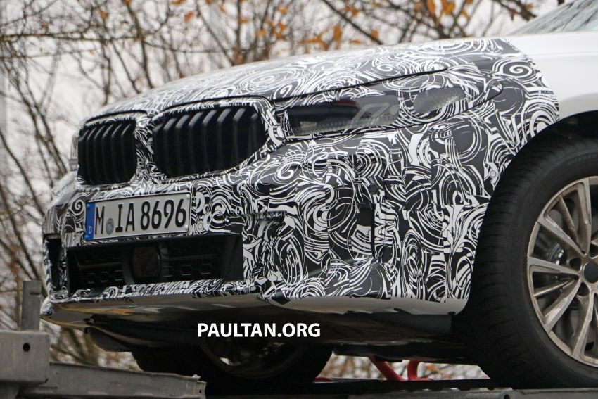 G32 BMW 6 Series GT LCI teased, debuts with 5 Series Image #1120711