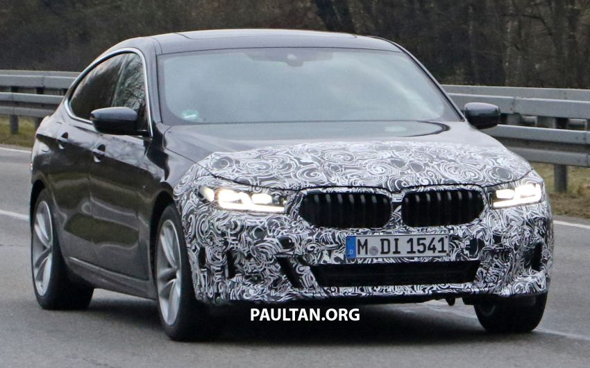 G32 BMW 6 Series GT LCI teased, debuts with 5 Series Image #1120703
