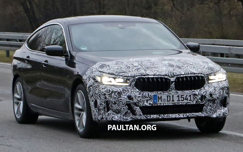 G32 BMW 6 Series GT LCI teased, debuts with 5 Series Image #1120704