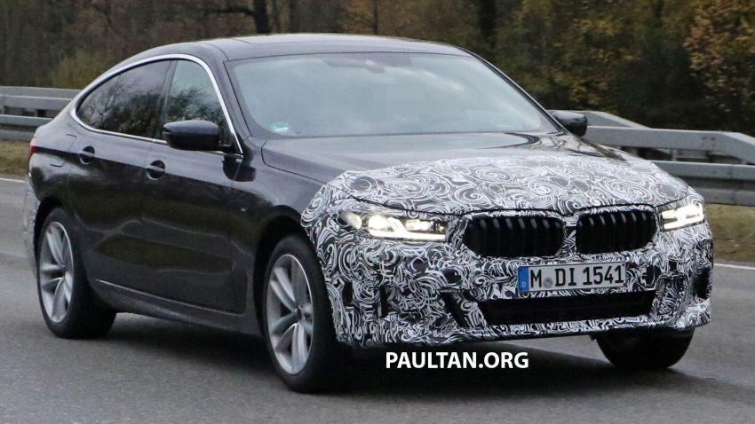 G32 BMW 6 Series GT LCI teased, debuts with 5 Series Image #1120705