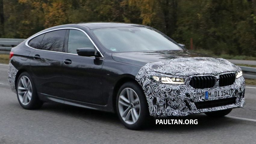 G32 BMW 6 Series GT LCI teased, debuts with 5 Series Image #1120706