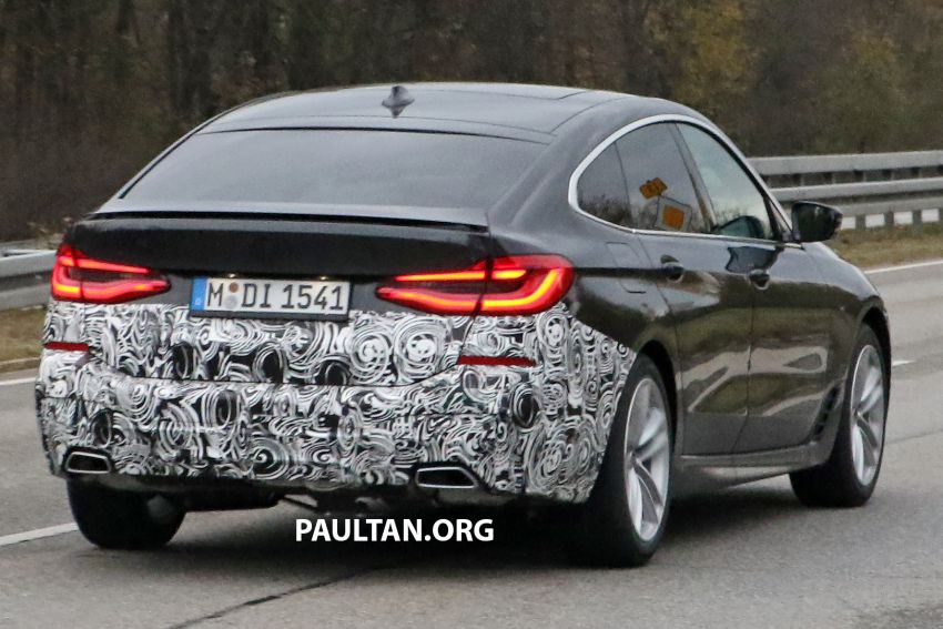 G32 BMW 6 Series GT LCI teased, debuts with 5 Series Image #1120708
