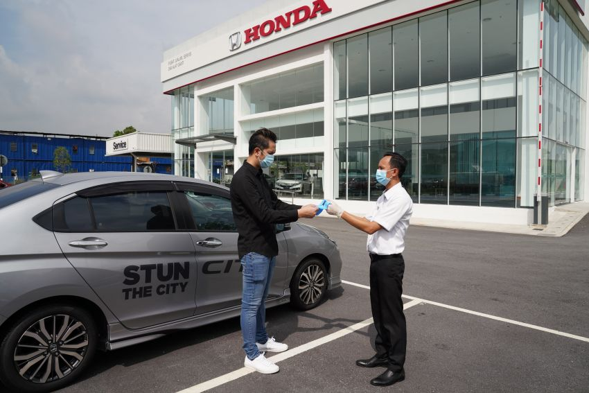 Honda Malaysia reopens all dealerships in the country Image #1118407