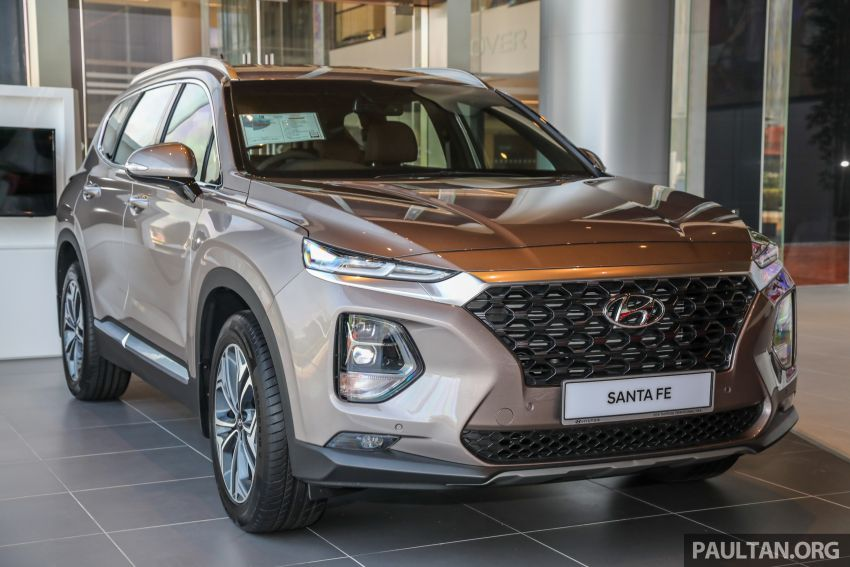GALLERY: 2020 Hyundai Santa Fe with third-row vents Image #1120029