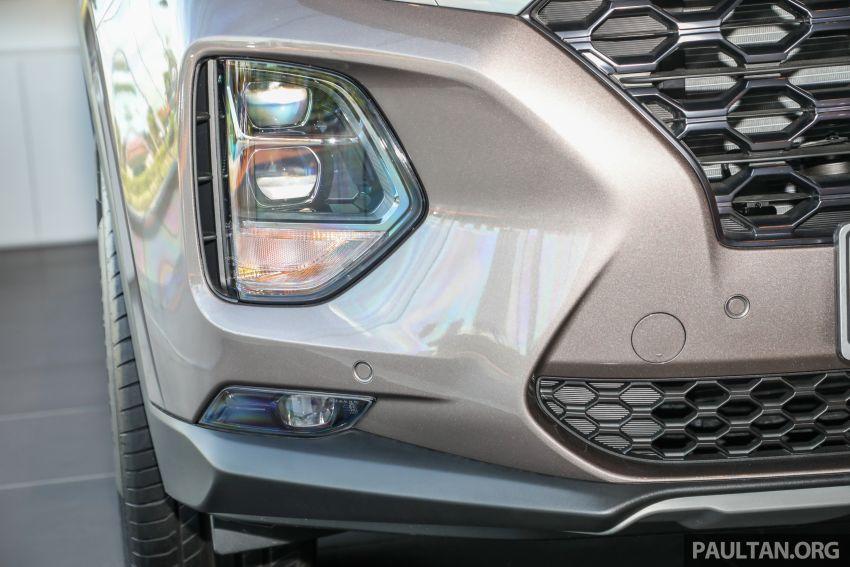 GALLERY: 2020 Hyundai Santa Fe with third-row vents Image #1120038