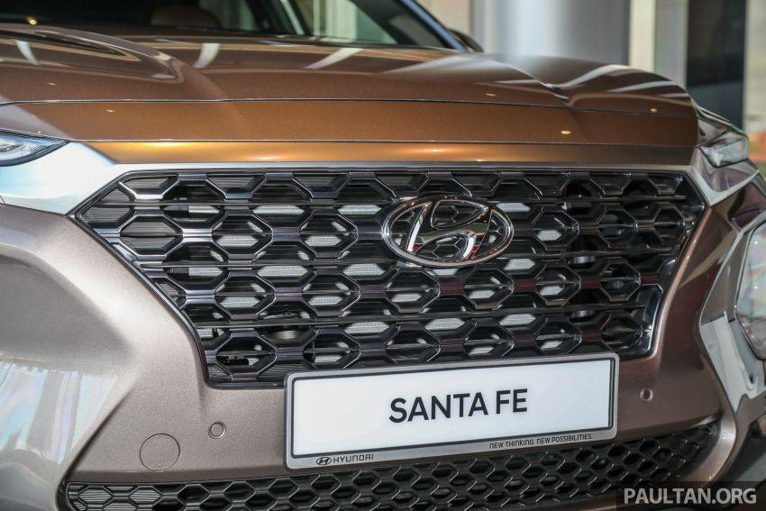 GALLERY: 2020 Hyundai Santa Fe with third-row vents Image #1120039