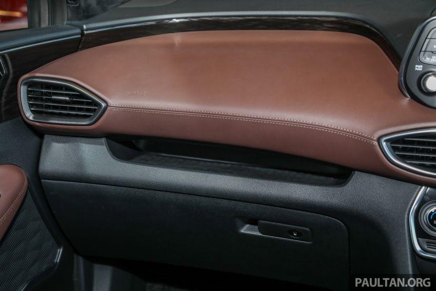 GALLERY: 2020 Hyundai Santa Fe with third-row vents Image #1120077