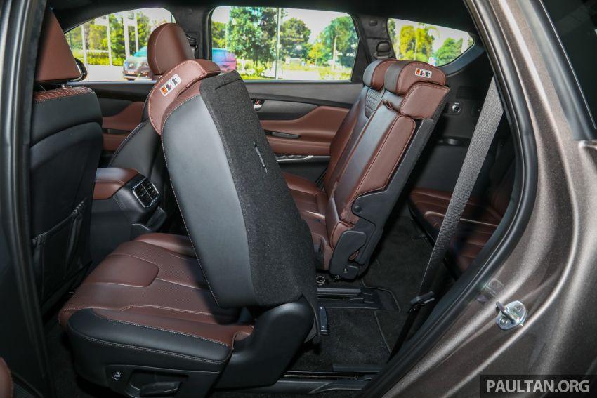 GALLERY: 2020 Hyundai Santa Fe with third-row vents Image #1120092