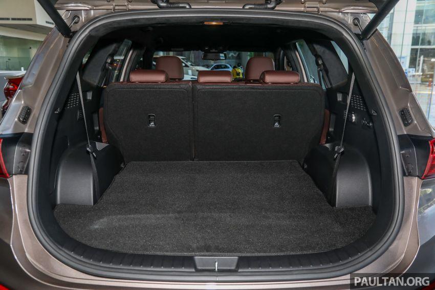 GALLERY: 2020 Hyundai Santa Fe with third-row vents Image #1120107