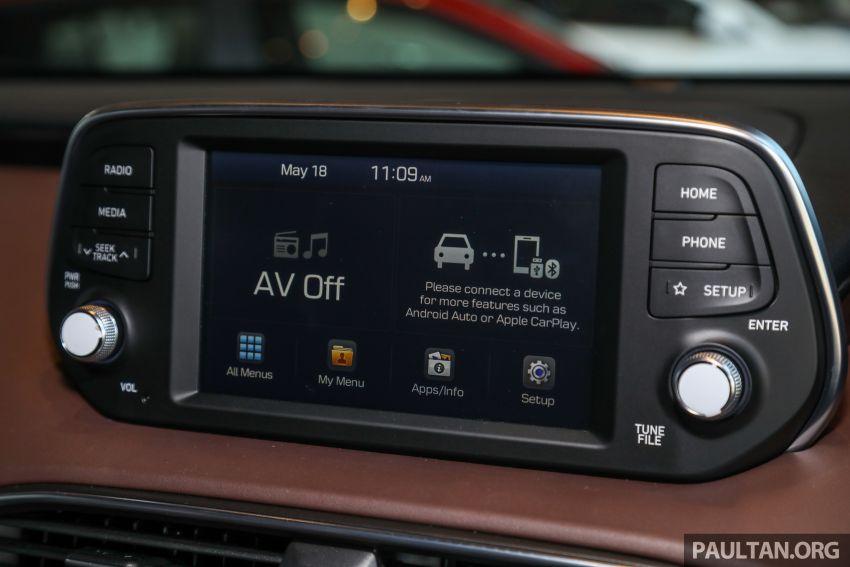 GALERI: Hyundai Santa Fe 2020 – RM2k lebih mahal, kini dilengkapi liang pendingin hawa baris ketiga Image #1120230