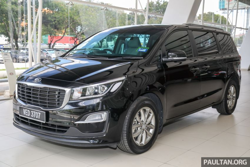 2020 Kia Grand Carnival with 11 seats now in M'sia – 2.2L turbodiesel, 200 PS, 440 Nm, 8-spd auto, RM180k Image #1119450