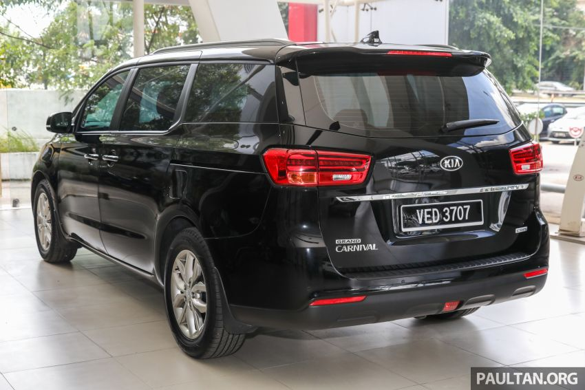2020 Kia Grand Carnival with 11 seats now in M'sia – 2.2L turbodiesel, 200 PS, 440 Nm, 8-spd auto, RM180k Image #1119451
