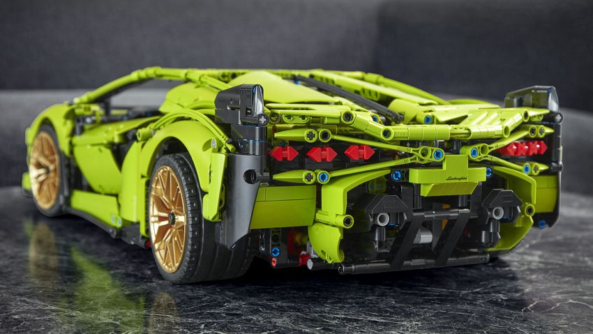 Lego Technic Lamborghini Sián FKP 37 — 3,696 bahagian ...