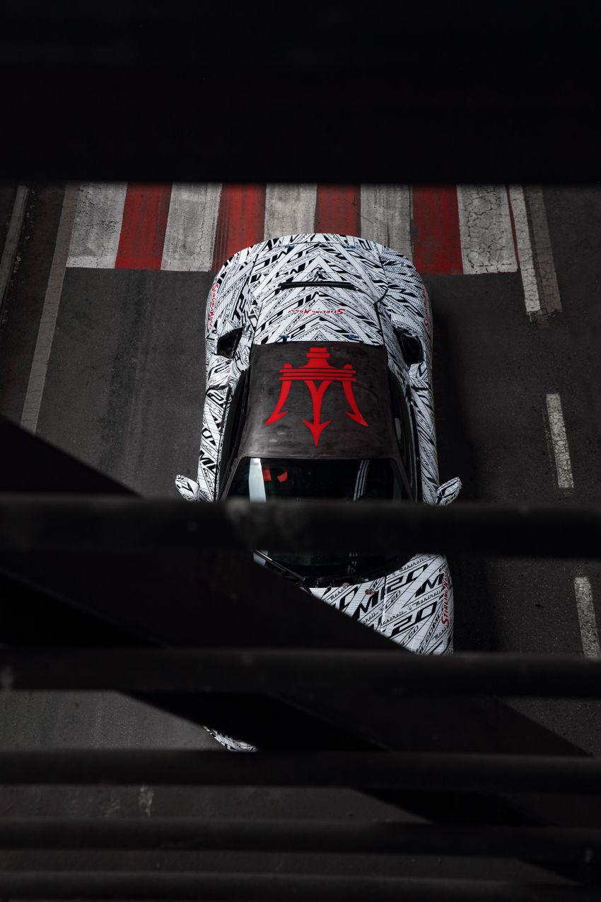 Maserati MC20 prototype pays tribute to Stirling Moss Image #1117529