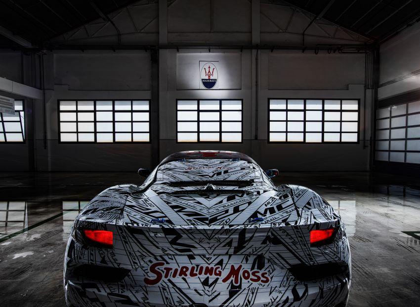 Maserati MC20 prototype pays tribute to Stirling Moss Image #1117530