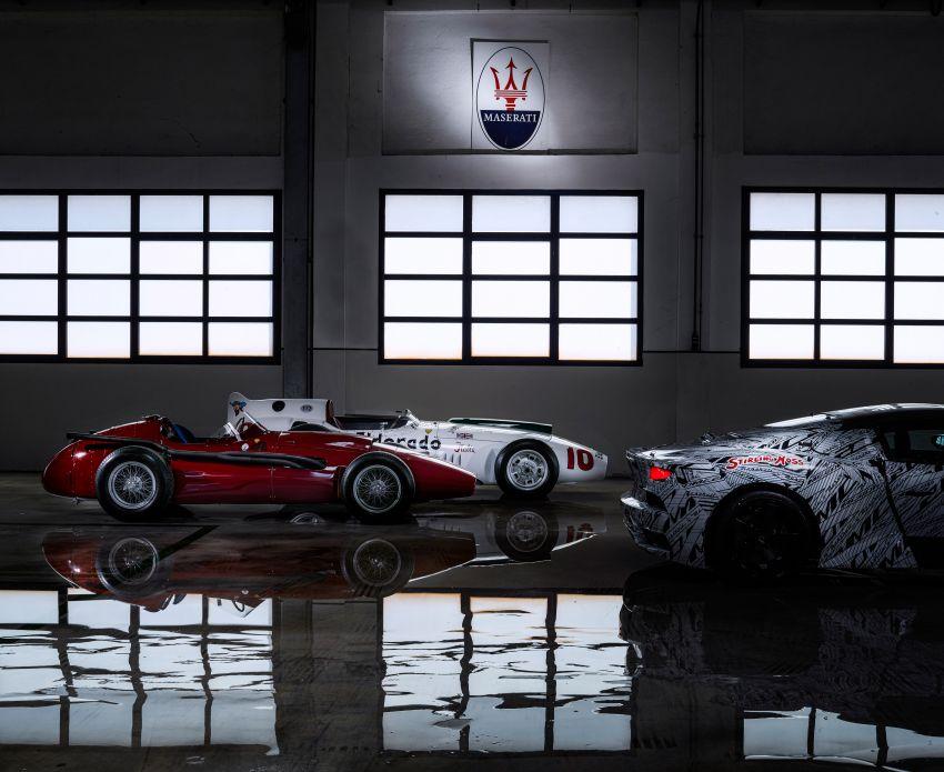Maserati MC20 prototype pays tribute to Stirling Moss Image #1117532