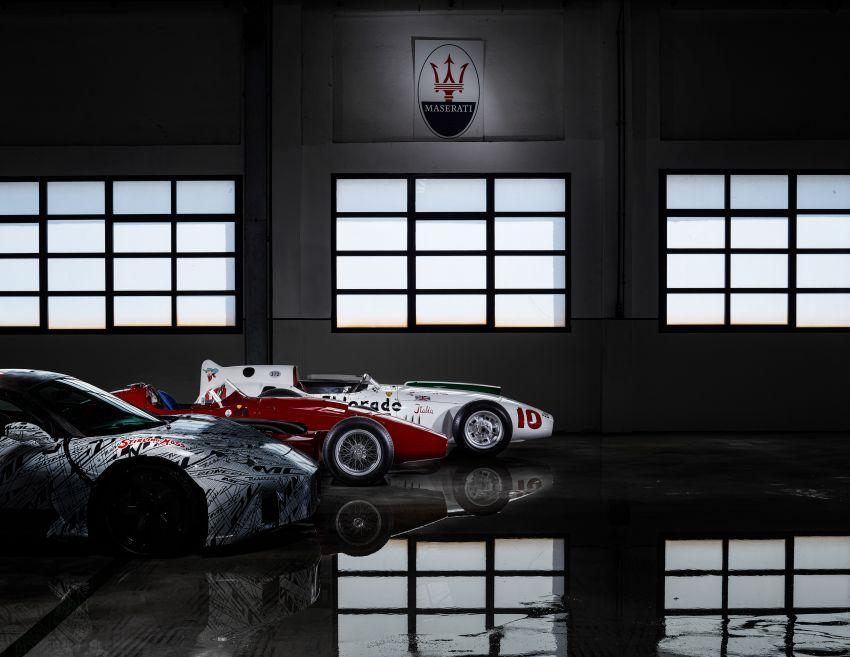 Maserati MC20 prototype pays tribute to Stirling Moss Image #1117533