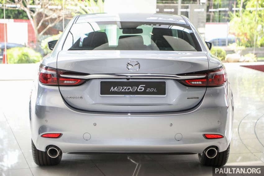 GALLERY: Mazda 6 2.0L Sedan update – from RM174k Image #1118560
