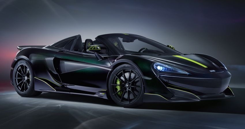 McLaren 600LT Spider Segestria Borealis by MSO – 12 units for the US only, inspired by an actual arachnid! Image #1120911