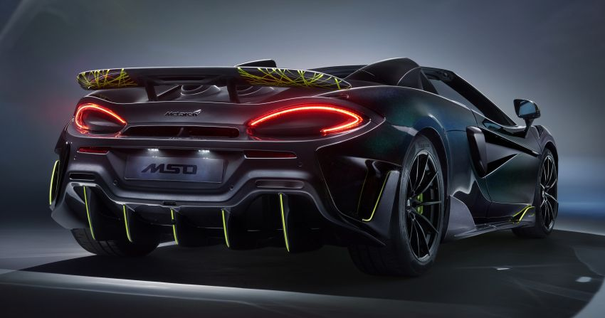 McLaren 600LT Spider Segestria Borealis by MSO – 12 units for the US only, inspired by an actual arachnid! Image #1120912