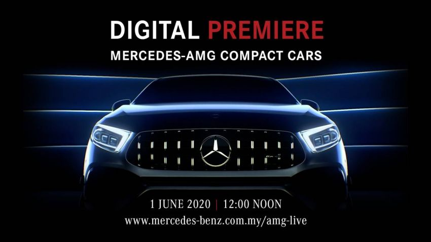 W177 Mercedes-AMG A45S and C118 CLA45S to make Malaysian debut on June 1 via Facebook, YouTube live Image #1122886