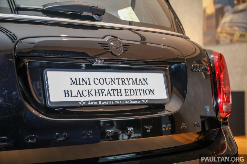 GALERI: MINI Countryman Blackheath Edition – kemasan serba gelap, terhad 48 unit, 192 hp, RM254k Image #1119972