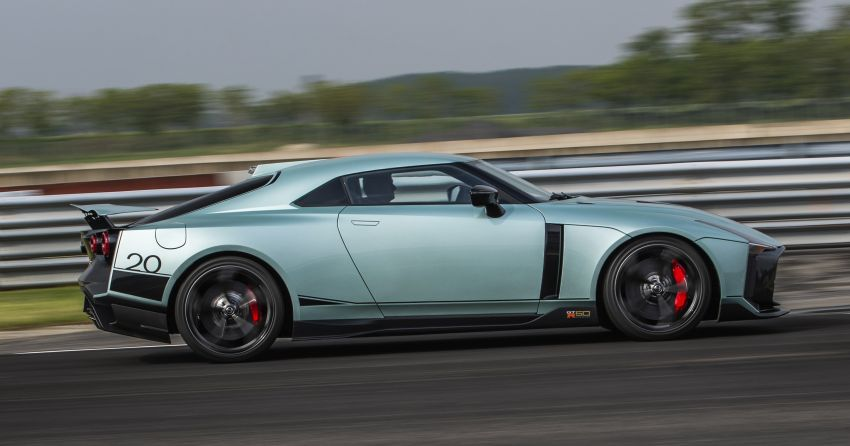 Nissan GT-R50 by Italdesign enters production; customer deliveries of 50-unit run to begin late 2020 Image #1120959