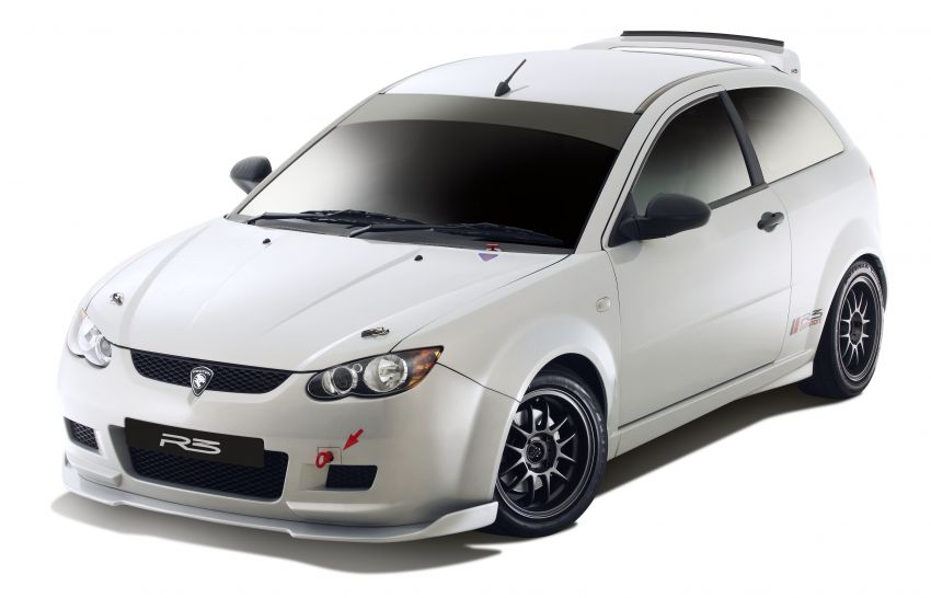2008 Proton Satria Neo R3 Clubsport – track-ready machine with a factory roll cage; only 25 units built Image #1117560