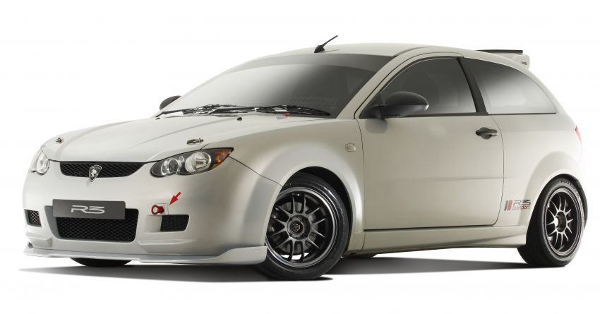 2008 Proton Satria Neo R3 Clubsport – track-ready machine with a factory roll cage; only 25 units built Image #1117561