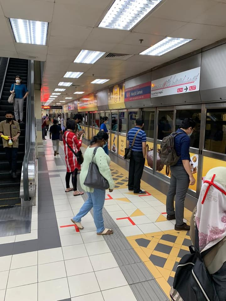 New Rapid KL train schedule effective May 4 – social distancing measures in place, face mask compulsory Image #1114289