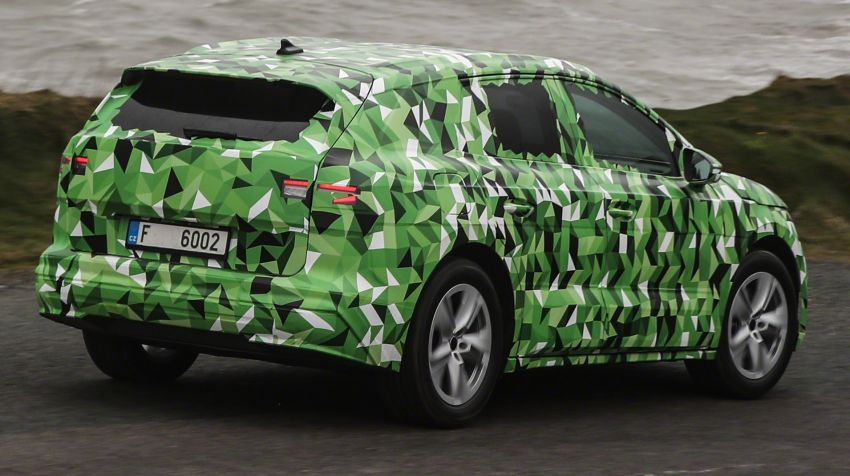 Skoda Enyaq iV teased – electric SUV with 500 km range; 302 hp RS gets from 0-100 km/h in 6.2 secs Image #1115990
