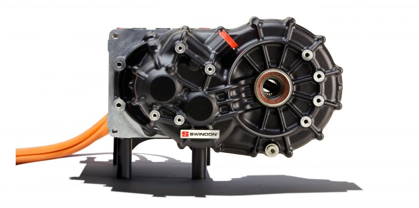 Swindon Powertrain's crate electric motor now ready for purchase – 107 hp and 136 Nm; priced at RM34k Image #1123327
