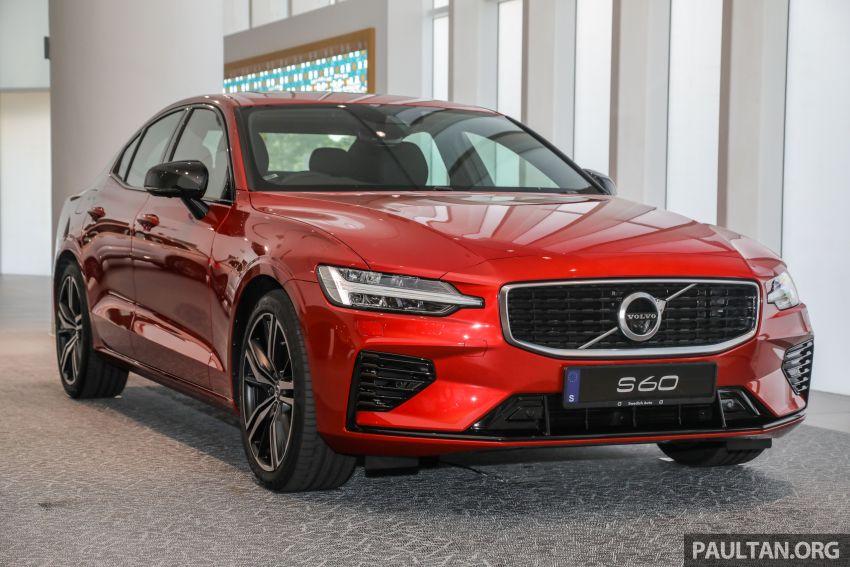 Volvo S60 T8 CKD 2020 dilancarkan di M'sia – harga RM295,888 tidak berubah, kini dengan Park Assist Image #1119170