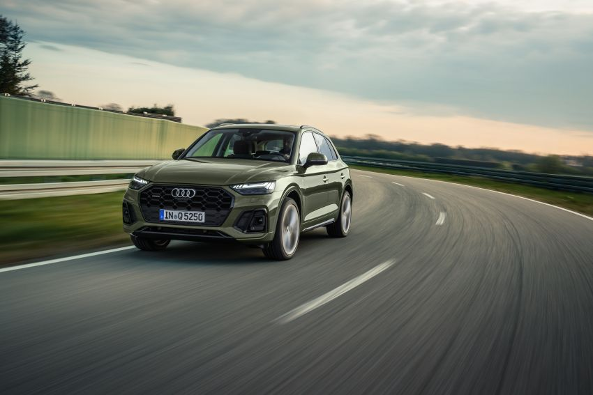 2020 Audi Q5 facelift debuts – updated styling; MIB3 infotainment system; mild hybrid, PHEV powertrains Image #1137790