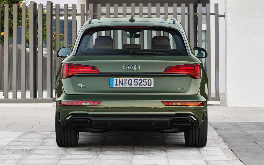 2020 Audi Q5 facelift debuts – updated styling; MIB3 infotainment system; mild hybrid, PHEV powertrains Image #1137799