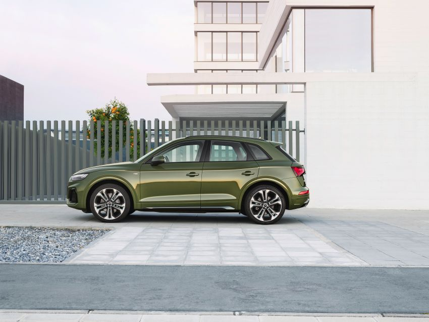 2020 Audi Q5 facelift debuts – updated styling; MIB3 infotainment system; mild hybrid, PHEV powertrains Image #1137800