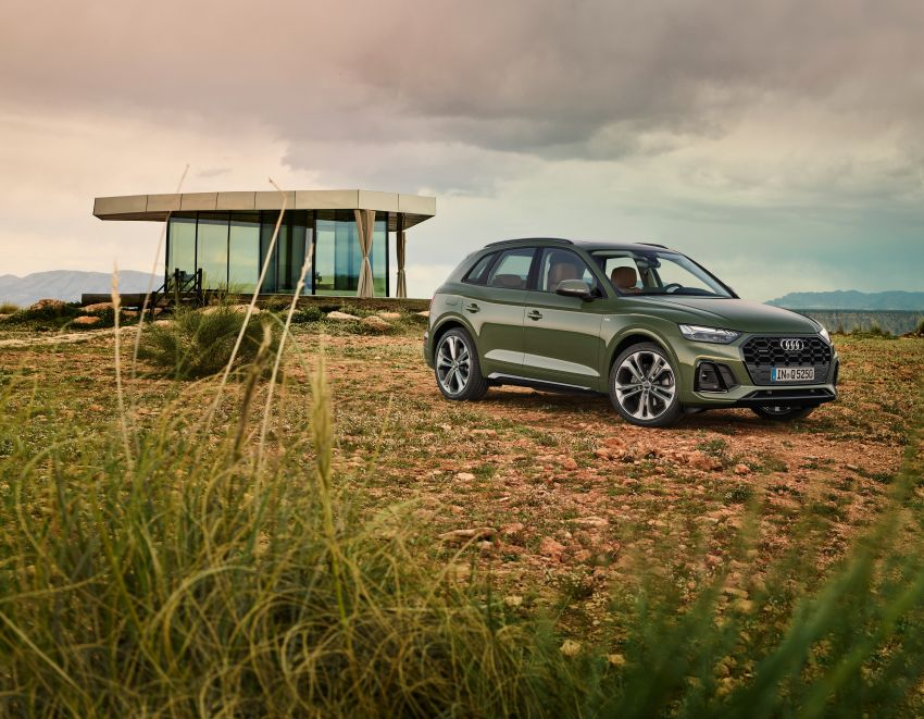 2020 Audi Q5 facelift debuts – updated styling; MIB3 infotainment system; mild hybrid, PHEV powertrains Image #1137801