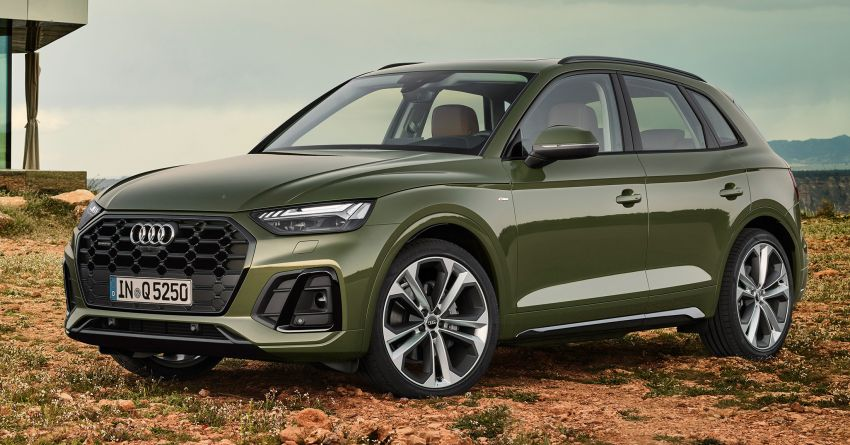 2020 Audi Q5 facelift debuts – updated styling; MIB3 infotainment system; mild hybrid, PHEV powertrains Image #1137802