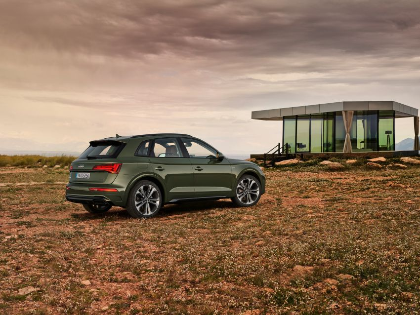 2020 Audi Q5 facelift debuts – updated styling; MIB3 infotainment system; mild hybrid, PHEV powertrains Image #1137803