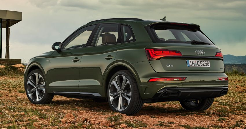 2020 Audi Q5 facelift debuts – updated styling; MIB3 infotainment system; mild hybrid, PHEV powertrains Image #1137804