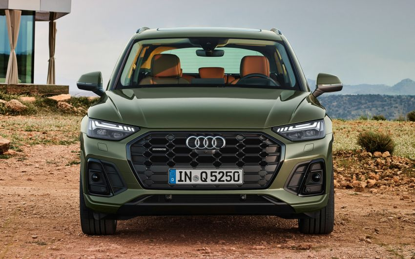 2020 Audi Q5 facelift debuts – updated styling; MIB3 infotainment system; mild hybrid, PHEV powertrains Image #1137805