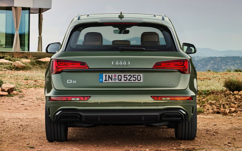 2020 Audi Q5 facelift debuts – updated styling; MIB3 infotainment system; mild hybrid, PHEV powertrains Image #1137806