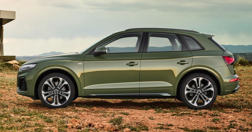 2020 Audi Q5 facelift debuts – updated styling; MIB3 infotainment system; mild hybrid, PHEV powertrains Image #1137807