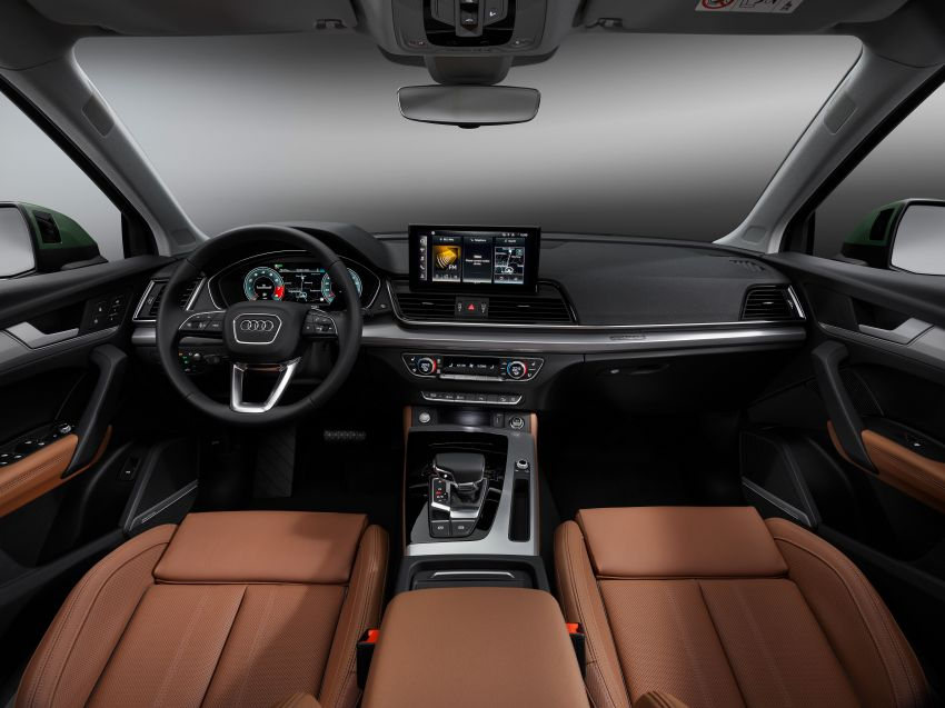 2020 Audi Q5 facelift debuts – updated styling; MIB3 infotainment system; mild hybrid, PHEV powertrains Image #1137808