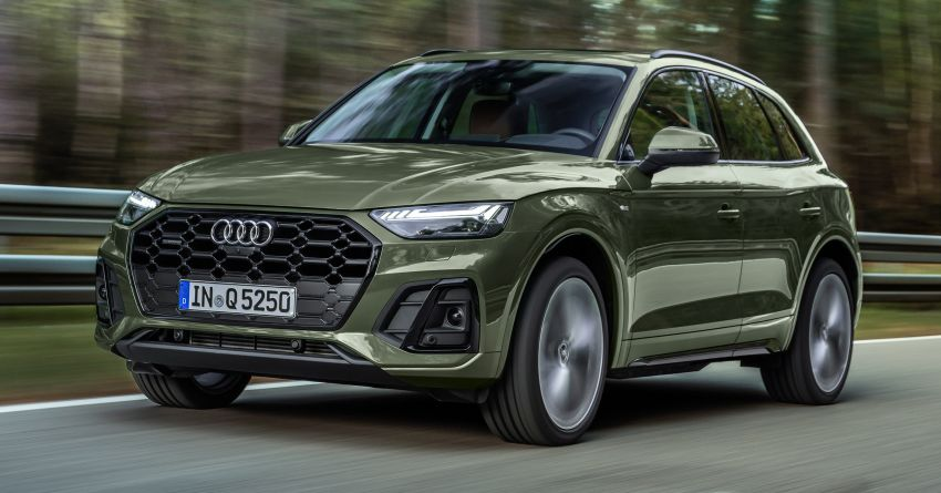 2020 Audi Q5 facelift debuts – updated styling; MIB3 infotainment system; mild hybrid, PHEV powertrains Image #1137791