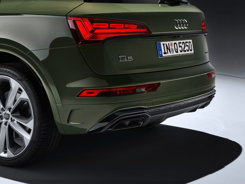 2020 Audi Q5 facelift debuts – updated styling; MIB3 infotainment system; mild hybrid, PHEV powertrains Image #1137826