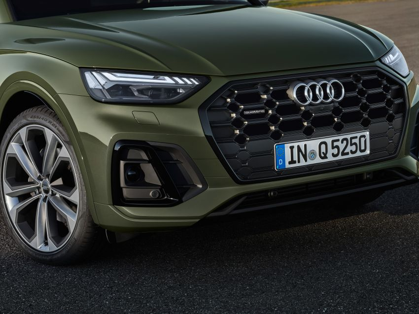 2020 Audi Q5 facelift debuts – updated styling; MIB3 infotainment system; mild hybrid, PHEV powertrains Image #1137829