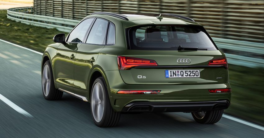2020 Audi Q5 facelift debuts – updated styling; MIB3 infotainment system; mild hybrid, PHEV powertrains Image #1137793