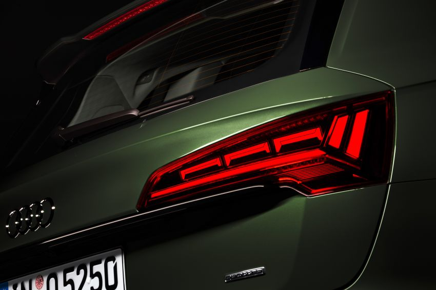 2020 Audi Q5 facelift debuts – updated styling; MIB3 infotainment system; mild hybrid, PHEV powertrains Image #1137832