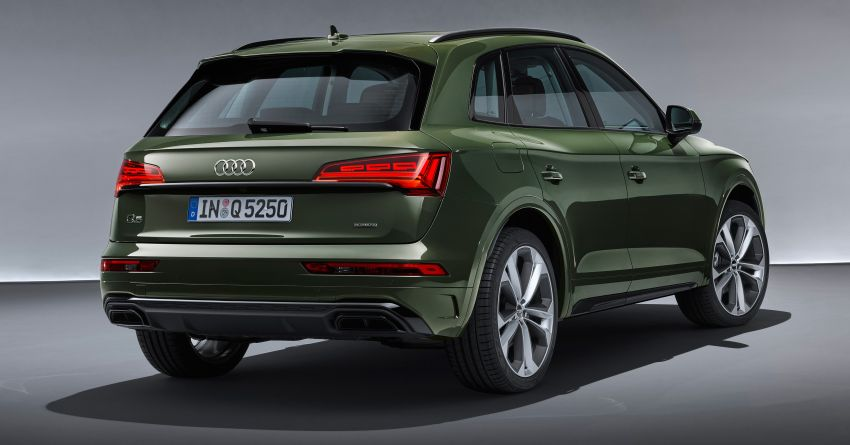 2020 Audi Q5 facelift debuts – updated styling; MIB3 infotainment system; mild hybrid, PHEV powertrains Image #1137837